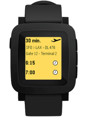 New Pebble Smart watch