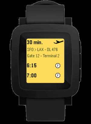 New Pebble Smart watch