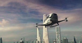 ล้ำหน้าโชว์ Taxi drone ที่นั่งได้จริง กำลังจะทดลองบินแล้วใน Nevada taxi passenger ehang drone ces 2016 184