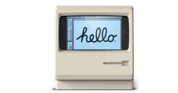 ล้ำหน้าโชว์ Elago-M4-1-351x185 เปลี่ยน iPhone 7 เป็นเครื่อง Macintosh  ปี 1984 ด้วย Elago M4