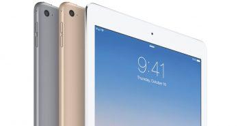 ล้ำหน้าโชว์ ipad-air-2-all-colors-351x185 แอปเปิลเริ่มเปลี่ยน iPad 4 เป็น iPad Air 2 สำหรับผู้ที่นำเครื่องมาซ่อมที่ศูนย์