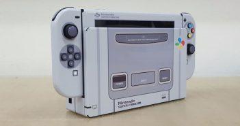 ล้ำหน้าโชว์ Nintendo-Switch-Super-Famicom-351x185 เปลี่ยนโฉม Nintendo Switch ให้กลายเป็นเครื่อง Super Famicom