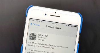 ล้ำหน้าโชว์ Apple ปล่อยอัพเดท iOS 10.3.2 ผ่าน OTA ช่วยเพิ่มระบบด้านความปลอดภัย