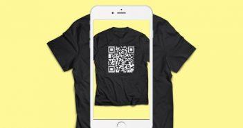 ล้ำหน้าโชว์ qr-code-t-shirt-351x185 Apple ใส่คุณสมบัติการอ่าน QR Code ในแอปกล้องของ iOS 11เบต้าแรกแล้ว