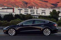 ล้ำหน้าโชว์ tesla-model-3-214x140 Elon Musk โชว์รูป Tesla Model 3 ตัวจริงคันแรก