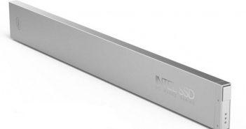 """ล้ำหน้าโชว์ อินเทลเปิดตัว SSD แบบใหม่ในทรง """"ไม้บรรทัด"""" ความจุ 1000 TB เน้นใช้ในศูนย์ข้อมูล Ruler SSD Intel"""