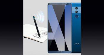 ล้ำหน้าโชว์ Huawei-Mate-10-smart-pen-351x185 Huawei Mate 10 จะสามารถใช้งานร่วมกับปากกา Smart Pen