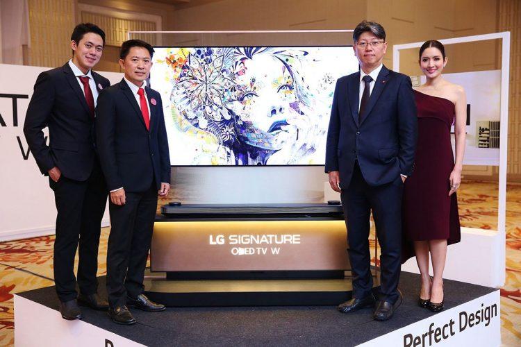 LG SIGNATURE OLED TV W7T วอลเปเปอร์ทีวี ไร้ขอบบางเฉียบ มาถึงไทยแล้ว ราคา 299990 บาท