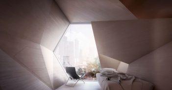 ล้ำหน้าโชว์ homed-cover-351x185 Homed โครงการสร้างบ้านพักเพื่อคนเร่ร่อนในนิวยอร์ก ออกแบบเหมือนรังผึ้ง
