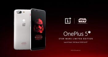 ล้ำหน้าโชว์ OnePlus เปิดตัว OnePlus 5T Star Wars Limited Edition พร้อมวางจำหน่าย 15 ธันวาคมนี้ที่อินเดีย Star Wars OnePlus 5T Star Wars Limited Edition OnePlus 5T