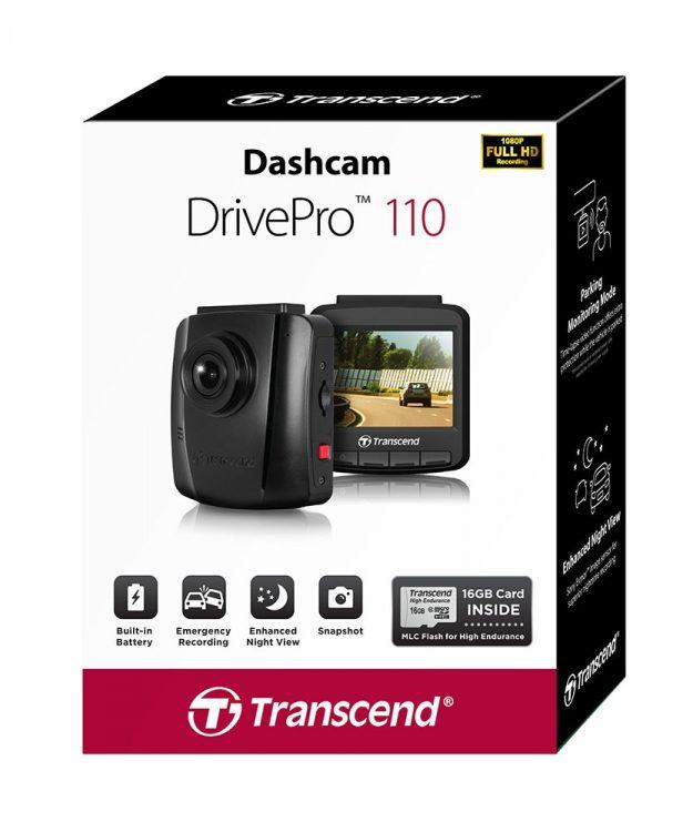 ล้ำหน้าโชว์ Transcend เปิดตัว กล้องติดรถยนต์ รุ่นใหม่ DrivePro 130 และ DrivePro 110 Transcend