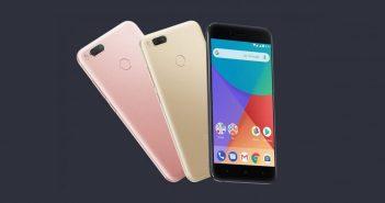 ล้ำหน้าโชว์ xiaomi_mi_a1_1-351x185 Xiaomi ปล่อยอัพเดต Android 8.0 Oreo ให้ Xiaomi Mi A1 แล้ว