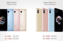 ล้ำหน้าโชว์ Note-5-Note-5-Pro-214x140 Xiaomi เปิดตัว Redmi Note 5 และ Redmi Note 5 Pro อย่างเป็นทางการ ราคาเริ่มต้น 4,900 บาท