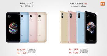 ล้ำหน้าโชว์ Note-5-Note-5-Pro-351x185 Xiaomi เปิดตัว Redmi Note 5 และ Redmi Note 5 Pro อย่างเป็นทางการ ราคาเริ่มต้น 4,900 บาท