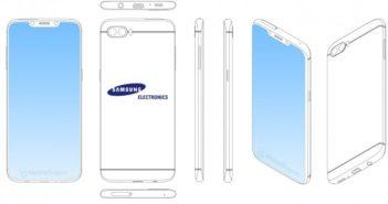 ล้ำหน้าโชว์ gsmarena_002-2-351x185 เกินจะต้าน! Samsung จดสิทธิบัตรใหม่สมาร์ทโฟนหน้าจอไร้ขอบแถมมีติ่ง Notch