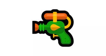ล้ำหน้าโชว์ Microsoft เปลี่ยนภาพอีโมจิปืนพกเป็นปืนฉีดน้ำจากกระแสการครอบครองอาวุธในสหรัฐฯ Microsoft emoji