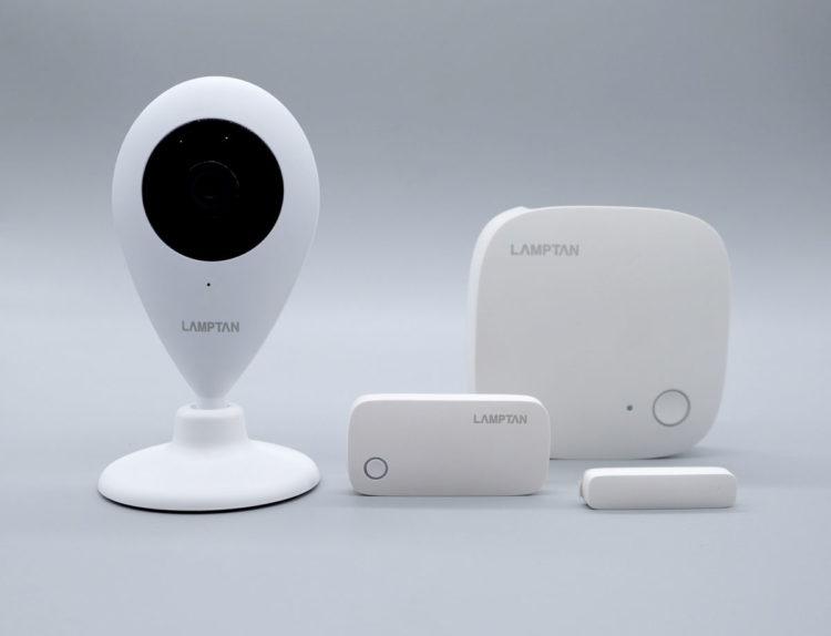 ล้ำหน้าโชว์ รีวิว LAMPTAN Smart Home Security Kit กล้องวงจรปิดและระบบความปลอดภัยในบ้าน ติดตั้งง่าย smart home LAMPTAN