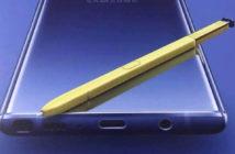 ล้ำหน้าโชว์ note-9-s-pen-leak-214x140 หลุดภาพใบปลิว Samsung Galaxy Note9 เผยให้เห็น S Pen ใหม่ ที่ใหญ่กว่าเดิม