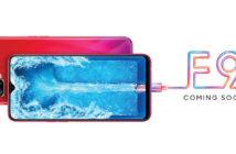 ล้ำหน้าโชว์ หลุดข้อมูล สเปค OPPO F9 กันน้ำและดีไซน์ที่สวยขึ้น เตรียมเปิดตัวในไทยเร็วๆ นี้ OPPO F9 OPPO