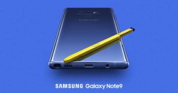 ล้ำหน้าโชว์ เปิดตัว Samsung Galaxy Note9 ตอบโจทย์การใช้งานสมบูรณ์แบบยิ่งกว่าเดิม Samsung Galaxy Note9