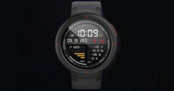 ล้ำหน้าโชว์ Huami เปิดตัว Amazfit Verge ที่วัดการเต้นของหัวใจได้ทั้งวัน มี NFC แถมแบตอึดนาน 5 วัน smartwatch Huami Amazfit Verge Huami