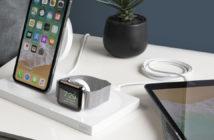 ล้ำหน้าโชว์ Belkin เปิดตัว wireless charging dock ใหม่ ใช้ได้ทั้ง iPhone XS และ Apple Watch The BoostUp Wireless Charging Dock Belkin apple watch Apple
