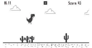 ล้ำหน้าโชว์ เกมไดโนเสาร์วิ่ง บน Chrome กับเบื้องหลังการสร้างที่คุณยังไม่เคยรู้มาก่อน T-Rex Game T-Rex Chrome Offline Game Google Dino Runner Online Chrome ChomeDino