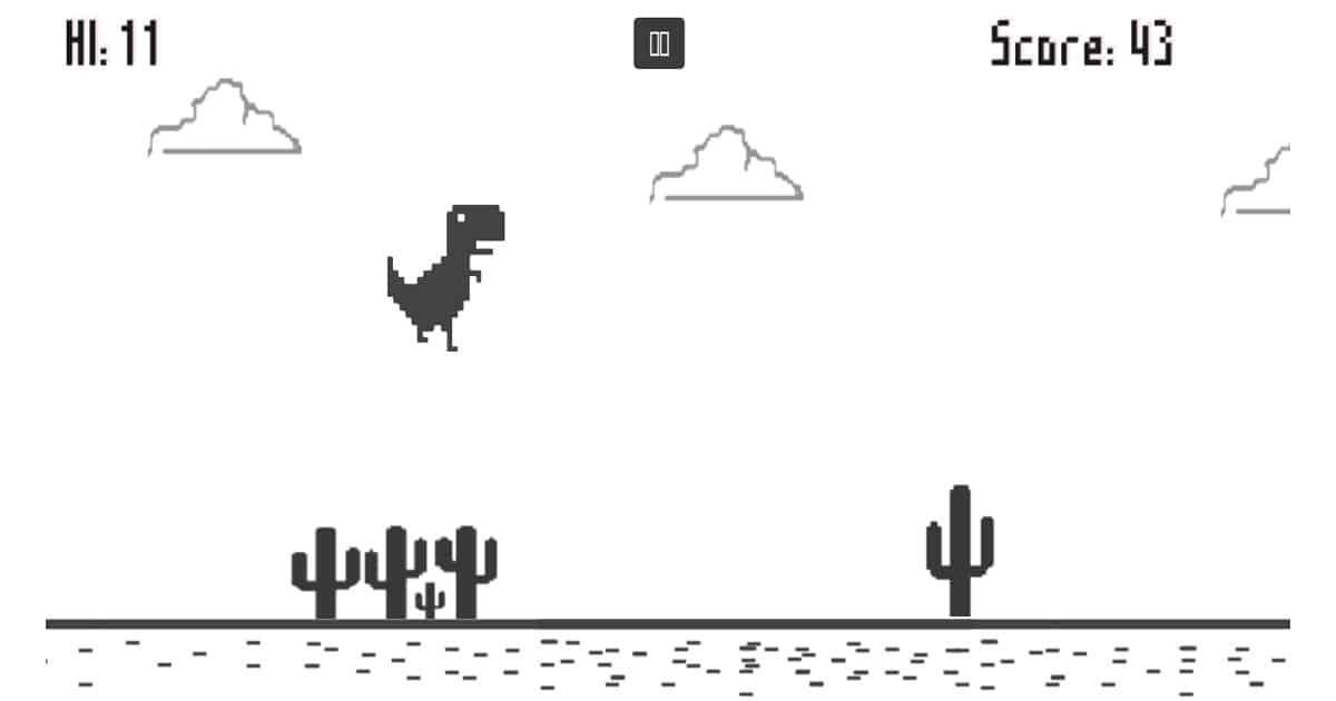 เกมไดโนเสาร์วิ่ง