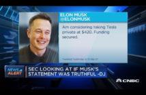 ล้ำหน้าโชว์ tweet เป็นเหตุ! กลต.สหรัฐฟ้อง Elon Musk ประเด็น tweet ปั่นราคาหุ้น Elon Musk