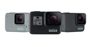 ล้ำหน้าโชว์ เปิดตัว GoPro Hero7 White, Silver, Black เพิ่มระบบ Live สด กันสั่นแบบใหม่ Gopro Hero7