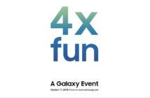 ล้ำหน้าโชว์ Samsung เตรียมเปิดตัวสมาร์ทโฟนรุ่นใหม่ 11 ต.ค. คาดว่ามาพร้อมกับกล้อง 4 ตัว Samsung