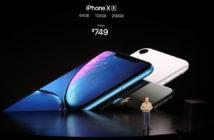 """ล้ำหน้าโชว์ อีกรุ่นที่เปิดตัว """"iPhone Xr"""" มือถือกล้องเดียว ที่มากับชิปตัวแรงและจอไร้ขอบ iPhone Xr iphone Apple Event 2018 Apple"""