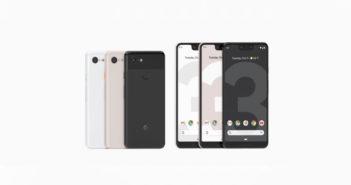 ล้ำหน้าโชว์ เปิดตัว Google Pixel 3 และ 3 XL กล้องหน้าคู่ จอใหญ่ขึ้น รองรับชาร์จไร้สาย Pixel 3 XL Pixel 3 Google Pixel 3 XL Google Pixel 3 Google Pixel Google