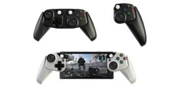 ล้ำหน้าโชว์ Microsoft เผยโฉมจอยเกมที่ใช้กับอุปกรณ์มือถือ ซึ่งเป็นส่วนหนึ่งของโปรเจค xCloud xCloud Microsoft Game Controller