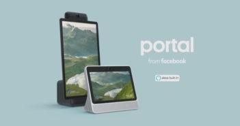 """ล้ำหน้าโชว์ Facebook เปิดตัว """"Portal"""" อุปกรณ์ที่ตอบโจทย์สาย Video Call Video Chat Device Portal Facebook Alexa"""
