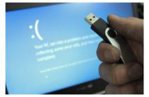 ล้ำหน้าโชว์ งานเข้าซ้ำซ้อน?! อัพเดท Windows 10 แล้วขึ้น Blue Screen บู๊ตเข้า+Windows ไม่ได้ (มีวิธีแก้) Windows 10 October Update Windows 10 Windows Microsoft BSOD Blue Screen of Death