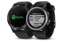 ล้ำหน้าโชว์ Garmin Fenix 5 Plus สามารถฟังเพลง Spotify แบบ offline ได้แล้ว Spotify garmin