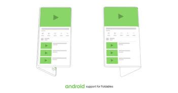 ล้ำหน้าโชว์ Google จะออกระบบปฏิบัติการ Android เพื่อรองรับสมาร์ทโฟนหน้าจอพับได้ screen continuity Samsung Google foldable smartphone foldable screens foldable Phone Android Developer Summit