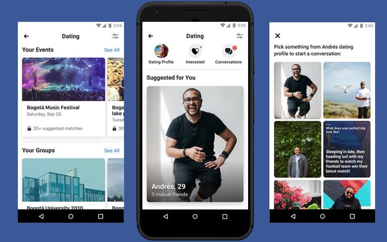 ล้ำหน้าโชว์ คนโสดเฮ !!! Facebook เปิดใช้ 'Facebook Dating' แล้วในไทย (เฉพาะ Android ก่อน) Facebook dating Facebook Android