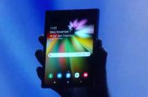 ล้ำหน้าโชว์ สื่อเกาหลีคาดราคาสมาร์ทโฟนจอพับได้ของ Samsung จะสูงถึง 1,770 ดอลล่าร์ Samsung Galaxy X Samsung Galaxy F Samsung Infinity Flex display Infinity Flex foldable smartphone foldable Phone