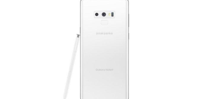 ล้ำหน้าโชว์ Samsung Galaxy Note9 สีขาว อาจจะเป็นสีใหม่ที่จะเปิดตัวเร็วๆ นี้ Galaxy Note9