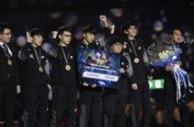 ล้ำหน้าโชว์ J Team จากไต้หวัน คว้าแชมป์เกม RoV ในงาน AIC2018 รับเงินรางวัล 8.5 ล้านบาท ROV Garena
