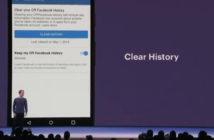 ล้ำหน้าโชว์ รอไปก่อน ! ฟีเจอร์ 'Clear History' ของ Facebook (น่าจะ) ใช้ได้ช่วงเมษายน 2019 Facebook Clear History