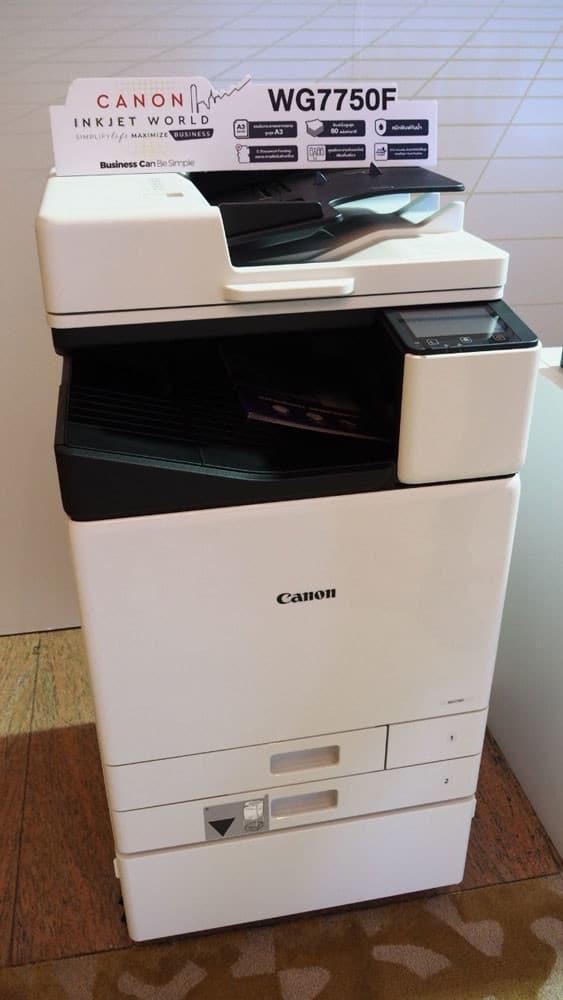 ล้ำหน้าโชว์ เปิดตัว Canon Inkjet G ซีรีส์ และ WG ซีรีส์ 5 รุ่นใหม่ ตอบโจทย์ธุรกิจทุกขนาด Cannon Inkjet Cannon