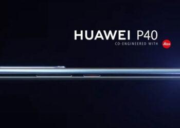 หลุดภาพแรก Huawei P40 เผยด้านข้างบางเฉียบ จอโค้ง คาดเปิดตัวต้นปี 2020