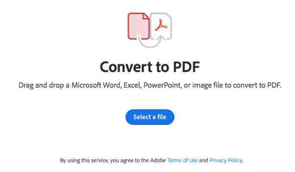 PDF.new Adobe แปลง Word PDF