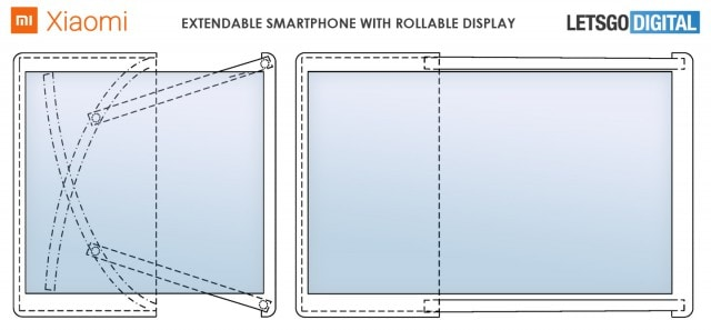 Xiaomi patent rollable smartphone