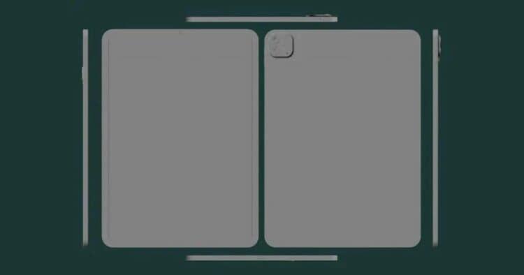 iPad Pro Gen 5 Render