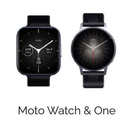 Moto Watch and Moto Watch One สมาร์ทวอทช์ Motorola