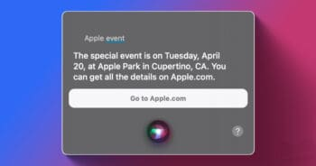 siri apple event 20 apr 2021